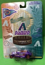 ARIZONA DIAMONDBACKS 2001 WORLD SERIES CHAMPS DIE CAST CAR #5 OF 5  2,500 LTD ED