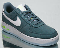 Nike Air Force 1 '07 Recycled Canvas Men's Ozone Blue White Lifestyle Sneakers