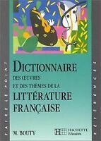 Dictionnaire des oeuvres et des thèmes de la littérature f... | Livre | état bon