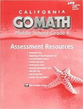 1st edition middle school math textbooks educational books ebay grade 6 go math california middle school assessment resources with answers 6th fandeluxe Choice Image