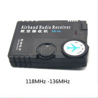 118MHz -136MHz Air Band Radio Receiver Aviation Band Receiver for Airport Ground