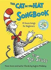 The Cat in the Hat Song Book by Eugene Poddany, Dr. Seuss (Hardback, 1967)