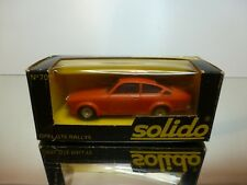 SOLIDO 70 OPEL GTE RALLYE - RED 1:43 -  VERY GOOD CONDITION IN BOX