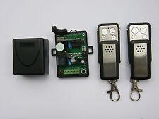 Universal 1-ch receiver + 2 remotes for garage gates BFT, SOMFY, BENINCA, BERNER
