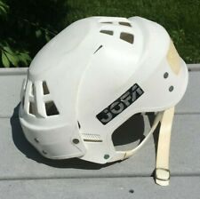 Wayne Gretzky Vintage JOFA Model 23551 Very Rare White Original Hockey Helmet