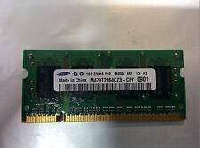 Samsung 1GB DDR2 SD-RAM PC2-6400S-666-12-A3 M470T2864QZ3-CF7