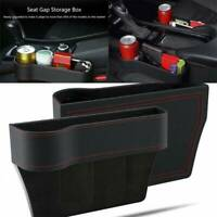 Car Organizer Seat Carriage Bag PU Pocket Multifunctional Storage Box Black K4F0
