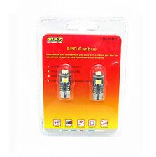 2 LAMPADINE 3 LED SMD 5050 T10 5W BIANCO CANBUS NO ERROR ACCESSORI AUTO TUNING