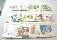Vintage Garrard V1 Grade 1 Leveled Readers 31 Literature Book Set 1971