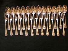 Ménagère Christofle 24 Pièces Modèle América en Argent Plaqué Silver Silber