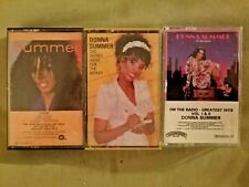 CASSETTES, SET OF 3 , DONNA SUMMER    (106)