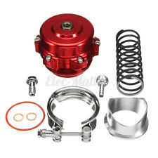 Red Tial 50mm V-Band Blow Off Valve BOV Q Typer & Weld On Flange 35 PSI