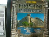 50 Rock and Roll Milestones 1 Danny & the Juniors, Ad Libs, Chubby Chec.. [2 CD]