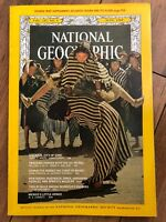 National Geographic Magazine June 1968 Vienna Ice Patrol Maine Mule With Map.