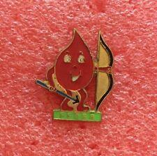 Pins FFDSB Fédération Française Du Don Du Sang Bénévole Archer Arc Santé Médecin