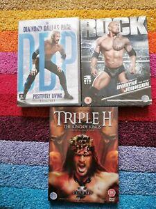 WWE DVD Bundle DDP, The Rock & Triple H