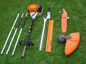 Stihl KM131 Combi 2019 Hedge Cutter Trimmer New Strimmer Pruner Chainsaw Kombi