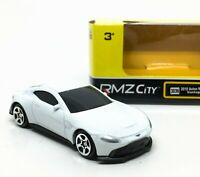 Aston Martin Vantage 2018 White Diecast Scale 1/64 (Approx 2.5 inches) RMZ City