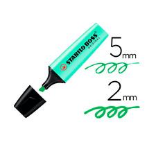 Rotulador Stabilo Boss Pastel  Verde claro