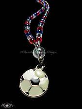 FUSSBALL Kette FRANKREICH * WM 2018 * Fanartikel * Blau Weiß Rot *