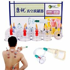 ABC Schröpfen Set Vakuum Massage mit Pumpe 14 Schröpfgläser cupping