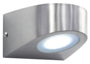 LED Stainless Steel Wall Down Light Modern Garden Outdoor Light Cool White ZLC36