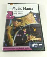 Jeu PC VF  Music Mania Star Academy  Neuf et scelle  Envoi rapide et suivi