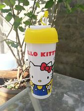 Hello Kitty plastic tumbler cup / Promotional item for 7-Eleven Thailand Only