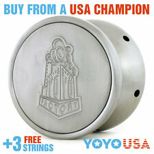 YoYoFactory Stainless Steel Whistling Yo-Yo + FREE STRINGS