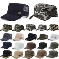 Camouflage Mens Military Army Baseball Cap Patrol Fatigue Adjustable Combat Hats