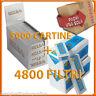 5000 Cartine SILVER CORTE + 4800 Filtri ULTRASLIM 5,5mm RIZLA