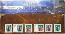 GB 2007 CHRISTMAS - HARK THE HERALD ANGELS SING PRESENTATION PACK NO 404