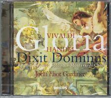 John Eliot GARDINER: VIVALDI Gloria HANDEL Dixit Dominus CD Gillian Keith CD NEU
