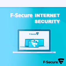 F-Secure Internet Security 2020 1 Device 1 PC 1 Year 2019 UK