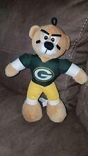 "Good Stuff NFL Green Bay Packers 8"" Plush Stuffed Animal Bear exc"