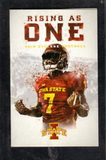 Iowa State Cyclones--2018 Football Pocket Schedule