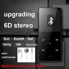 New MP3 MP4 Players Bluetooth Touch Screen  HIFI Music  Player FM Radio 128GB