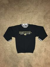 Vintage Iowa Hawkeyes Crewneck Sweater Pro Player