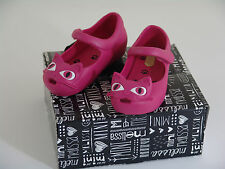 Mini Melissa Ultragirl Cats Pink - toddler size 8 US - NEW
