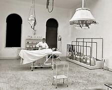 Photograph Brooklyn Naval Yard Medical Operation Room Year 1901c   8x10