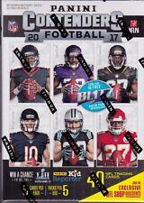 2017 Panini Contenders  Football sealed Blaster box 5 packs of 8 NFL cards 1 hit