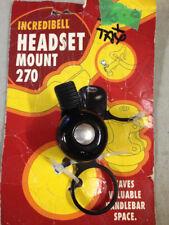 Threadless Stem Mount Road Bike Bicycle Bell - Mirrycle INCREDIBELL FREE SHIP