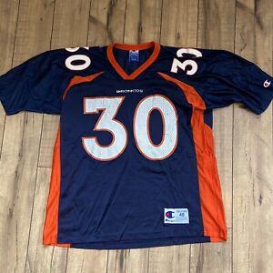 Vintage Champion Denver Broncos TERRELL DAVIS jersey Size 48