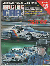Racing Car News 1986 Oct  Bathurst 1000 Details Drivers Cars Subaru RX Turbo Sie