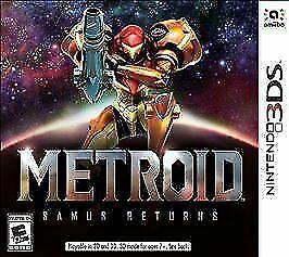 Metroid: Samus Returns (Nintendo 3DS, 2017, USA)