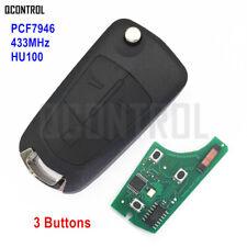 Car Remote Control Key Fob for Opel/Vauxhall Vectra C Signium Door Lock PCF7946