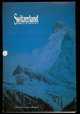 USA #2532 1991 50c Switzerland  First Day Ceremony Program