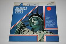 The Eric Rogers Chorale & Orchestra America Sings LP VG/VG