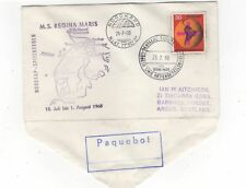 Nordkapp Paquebot 24 Jul 1968 MS Regina Maris Cover Norway / Germany 973b