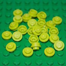 LEGO Bau- & Konstruktionsspielzeug LEGO Round Stud Plate 1X1 NEW 4073 Lime Baukästen & Konstruktion